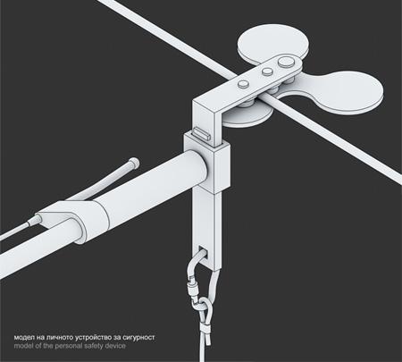 Sky Bike Lane Concept