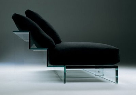 Glass Sofa
