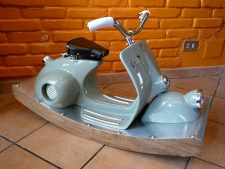 Rocking Vespa Motorcycle