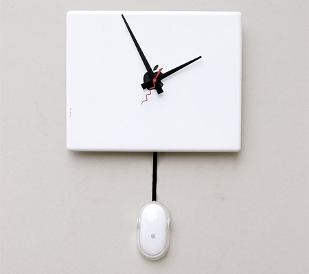 Apple iBook Wall Clock