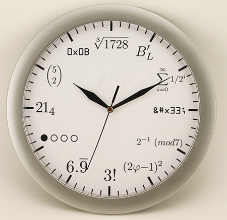 Geek Wall Clock