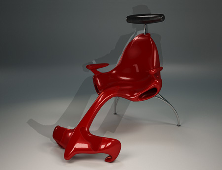 Ferrari Formula 1 Chair