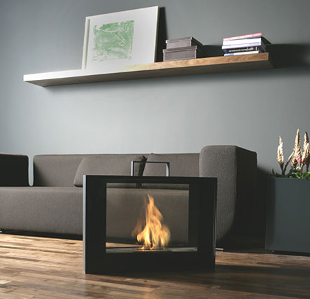 Mobile Fireplace