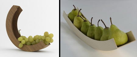 Vessel Fruit Bowls
