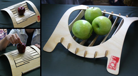 Bend Fruit Bowl