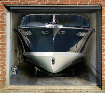 Awesome Garage Door Decals Carrentals Blog - Cool boat decals