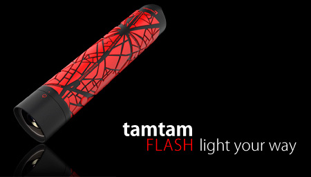 Tamtam GPS Flashlight