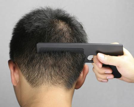Gun Shaped Comb