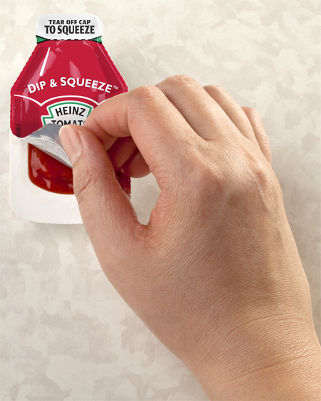 Heinz Ketchup Packaging