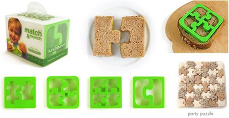 Puzzle Sandwich Cutter