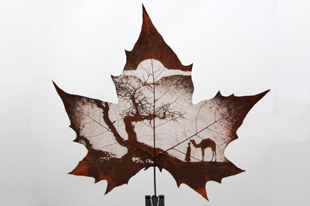 China Leaf Carving