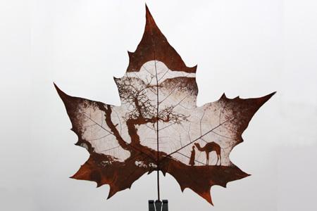China Leaf Carving