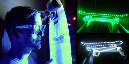 Photon Light LED Skateboards