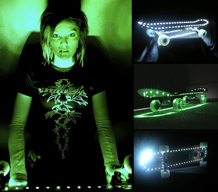 LED Skateboards