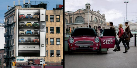 Creative MINI Cooper Advertising