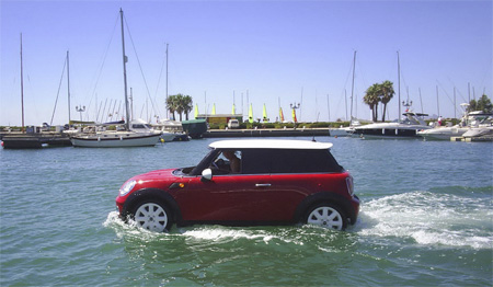MINI Drives on Water