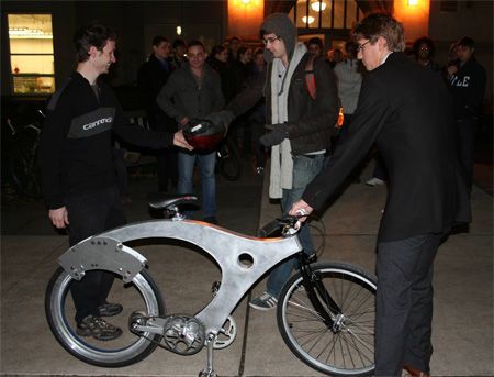 Spokeless Bike Prototype