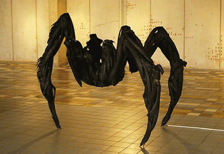 Spider Tire Sculpture