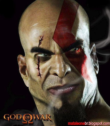 Untooned Kratos