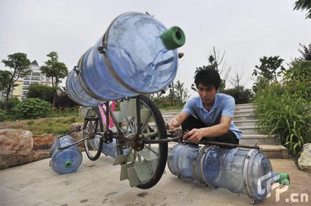 Amphibious Bicycle