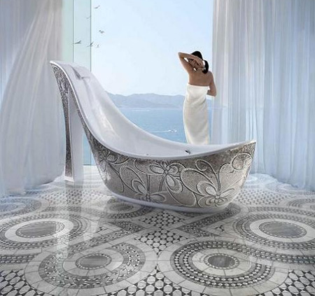 Shoe Bathtub