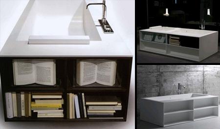 Bookcase Bathtub