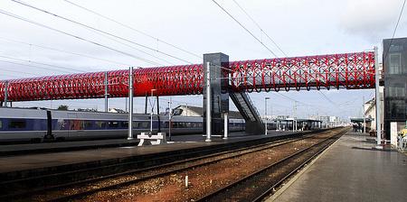 Cool Pedestrian Bridge in France