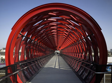 Pedestrian Bridge in France