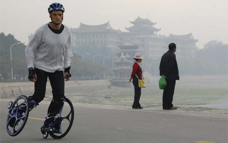 Inline Skates with Chariot Wheels