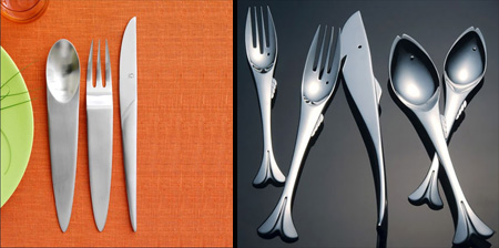 Flatware unusual interior design styles Unique flatware sets