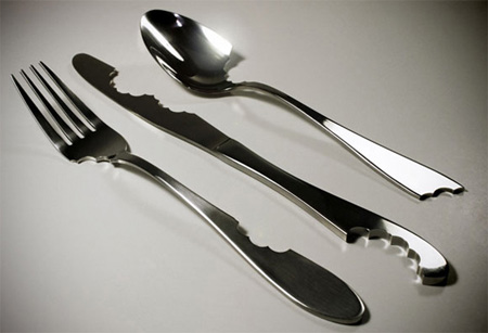 Creative and unusual cutlery designs Unique flatware sets