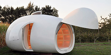 Egg Shaped House for your Backyard