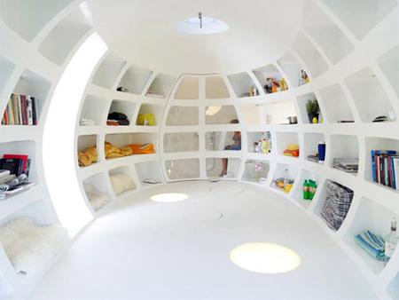 Egg Shaped Office