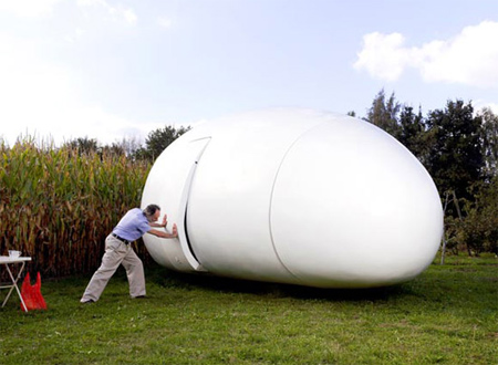Egg Shaped House