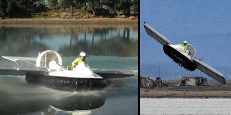 Cool Homemade Flying Hovercraft