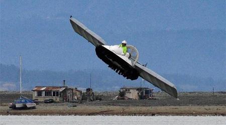 Flying Hovercraft Boat