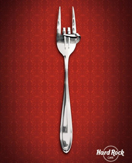 Hard Rock Cafe Fork