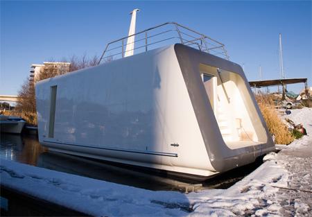 Modern Office on Water