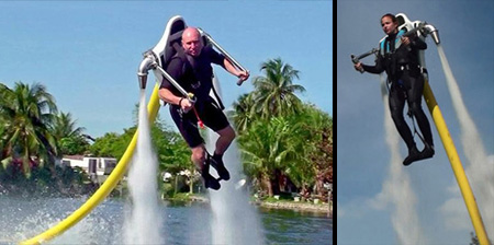 Cool Water Powered Jet Pack