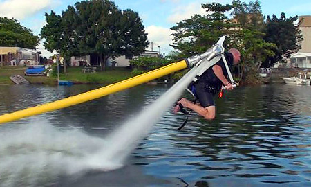 Jetlev Flyer Jet Pack