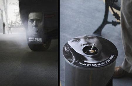 Anti Smoking Stickers