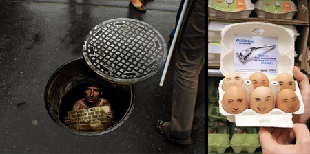 Clever Uses of Stickers in Advertising