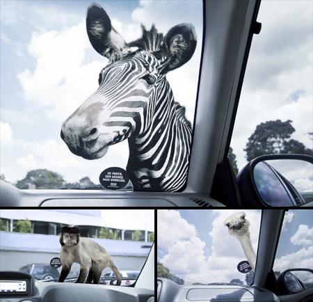 Zoo Safari Stickers