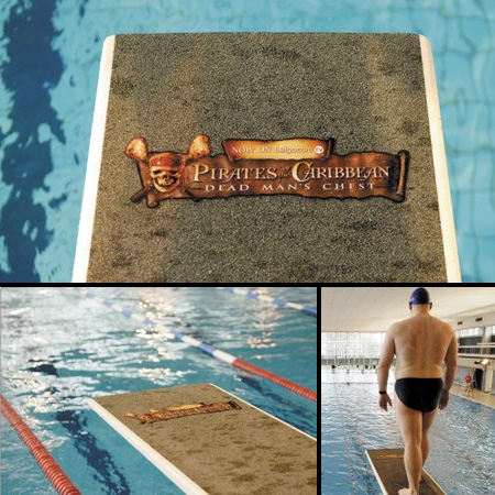 Pirates of the Caribbean Pool Sticker