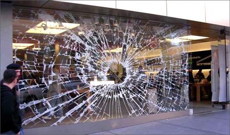 Apple Store Window Sticker