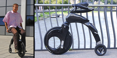 Electric Folding Bicycle Concept