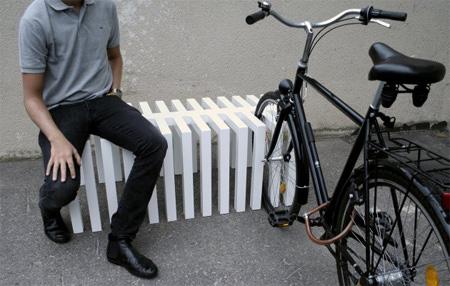 Bike Rack Bench