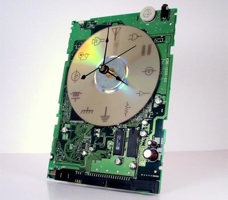 Circuit Board Clock