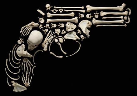 Human Bones Art