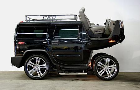 Hummer H2 Horse Cart